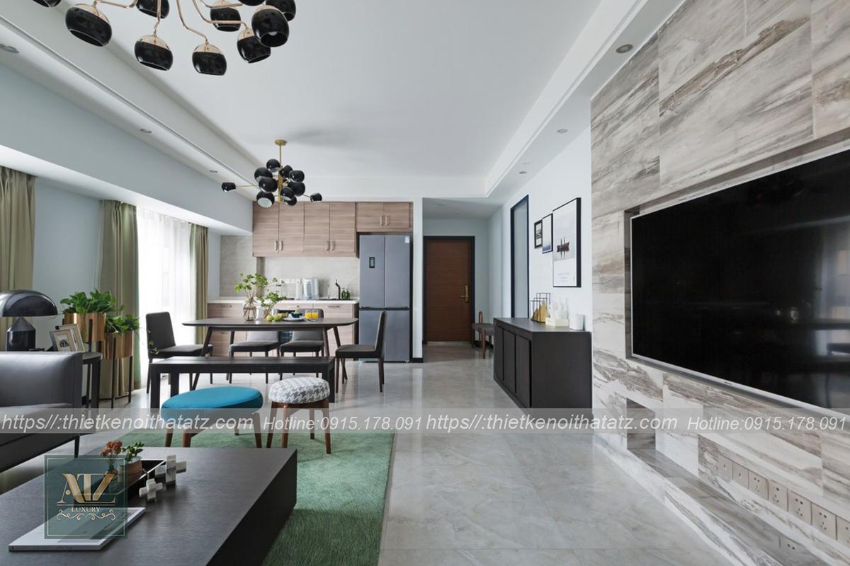 Thiết kế nội thất Phòng ăn - Sự kết nối không gian khéo léo.