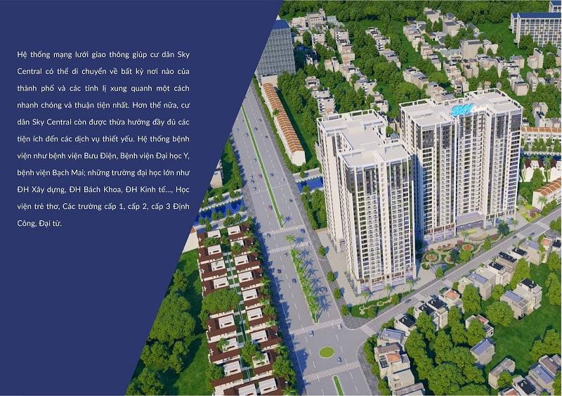 có nên mua chung cư sky central định công