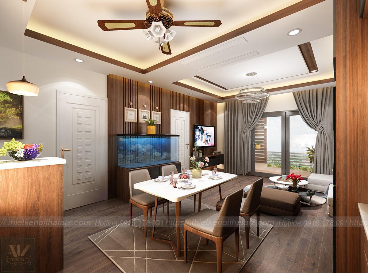 Thiết kế nội thất chung cư 94m2